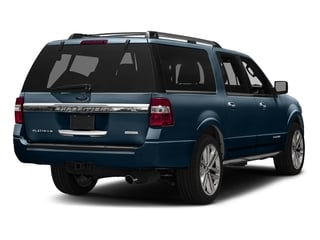 Blue Jeans Metallic 2016 Ford Expedition EL Pictures Expedition EL Utility 4D Platinum 2WD V6 Turbo photos rear view