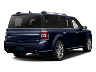 Kona Blue Metallic 2016 Ford Flex Pictures Flex Wagon 4D Limited AWD photos rear view