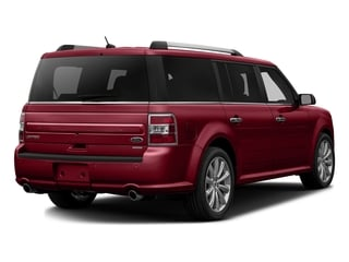 Ruby Red Metallic Tinted Clearcoat 2016 Ford Flex Pictures Flex Wagon 4D Limited AWD photos rear view