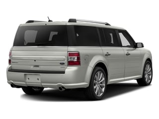 White Platinum Metallic Tri-Coat 2016 Ford Flex Pictures Flex Wagon 4D Limited AWD photos rear view