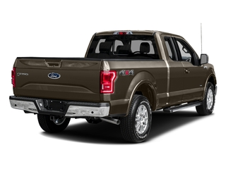 Caribou Metallic 2016 Ford F-150 Pictures F-150 Supercab Lariat 2WD photos rear view