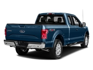 Blue Jeans Metallic 2016 Ford F-150 Pictures F-150 Supercab Lariat 2WD photos rear view