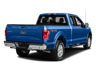 Blue Flame Metallic 2016 Ford F-150 Pictures F-150 Supercab Lariat 2WD photos rear view