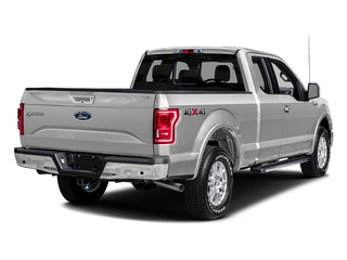 Ingot Silver Metallic 2016 Ford F-150 Pictures F-150 Supercab Lariat 2WD photos rear view