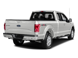 Oxford White 2016 Ford F-150 Pictures F-150 Supercab Lariat 2WD photos rear view