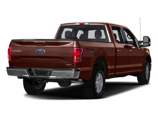 Caribou Metallic 2016 Ford F-150 Pictures F-150 Crew Cab Lariat 4WD photos rear view
