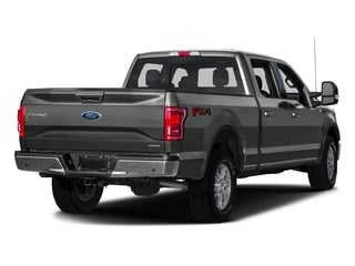 Magnetic Metallic 2016 Ford F-150 Pictures F-150 Crew Cab Lariat 4WD photos rear view