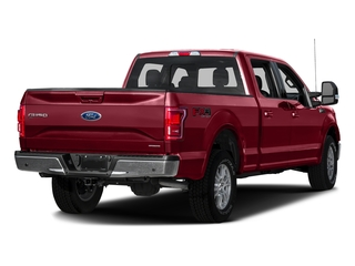 Ruby Red Metallic Tinted Clearcoat 2016 Ford F-150 Pictures F-150 Crew Cab Lariat 4WD photos rear view