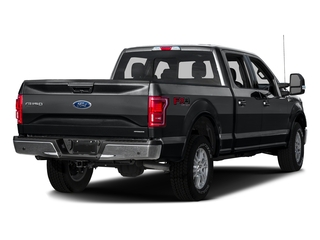 Lithium Gray 2016 Ford F-150 Pictures F-150 Crew Cab Lariat 4WD photos rear view