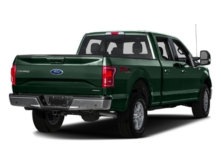 Green Gem Metallic 2016 Ford F-150 Pictures F-150 Crew Cab Lariat 4WD photos rear view
