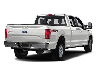 Oxford White 2016 Ford F-150 Pictures F-150 Crew Cab Lariat 4WD photos rear view