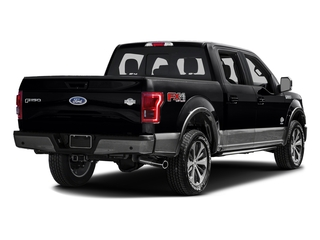 Shadow Black 2016 Ford F-150 Pictures F-150 Crew Cab King Ranch 4WD photos rear view