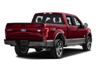 Ruby Red Metallic Tinted Clearcoat 2016 Ford F-150 Pictures F-150 Crew Cab King Ranch 4WD photos rear view