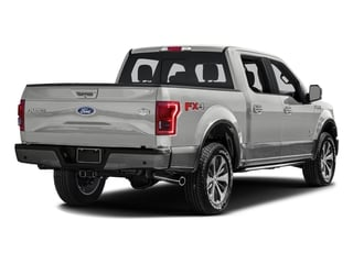 White Platinum Metallic Tri-Coat 2016 Ford F-150 Pictures F-150 Crew Cab King Ranch 4WD photos rear view