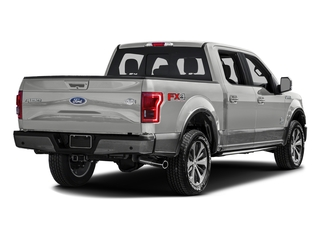 Oxford White 2016 Ford F-150 Pictures F-150 Crew Cab King Ranch 4WD photos rear view