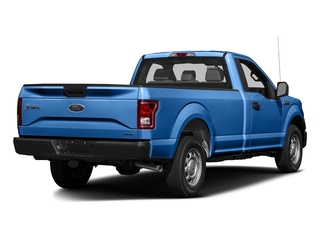 Blue Flame Metallic 2016 Ford F-150 Pictures F-150 Regular Cab XL 4WD photos rear view