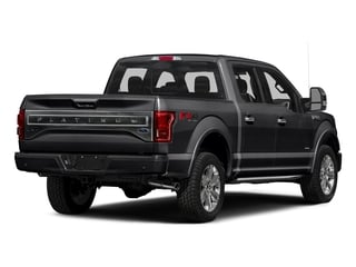 Shadow Black 2016 Ford F-150 Pictures F-150 Crew Cab Platinum 2WD photos rear view