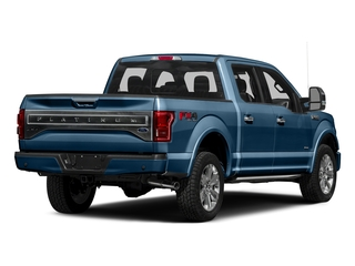 Blue Jeans Metallic 2016 Ford F-150 Pictures F-150 Crew Cab Platinum 2WD photos rear view
