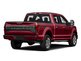 Ruby Red Metallic Tinted Clearcoat 2016 Ford F-150 Pictures F-150 Crew Cab Platinum 2WD photos rear view