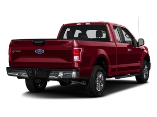 Ruby Red Metallic Tinted Clearcoat 2016 Ford F-150 Pictures F-150 Supercab XLT 2WD photos rear view