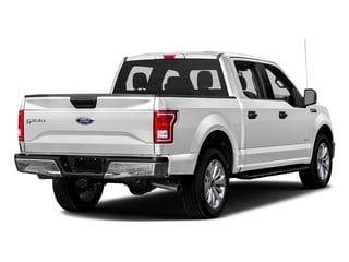 Oxford White 2016 Ford F-150 Pictures F-150 Crew Cab XLT 2WD photos rear view
