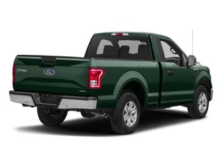Green Gem Metallic 2016 Ford F-150 Pictures F-150 Regular Cab XLT 2WD photos rear view