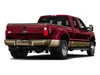 Ruby Red Metallic Tinted Clearcoat 2016 Ford Super Duty F-450 DRW Pictures Super Duty F-450 DRW Crew Cab King Ranch 4WD T-Diesel photos rear view