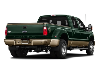 Green Gem Metallic 2016 Ford Super Duty F-450 DRW Pictures Super Duty F-450 DRW Crew Cab King Ranch 4WD T-Diesel photos rear view