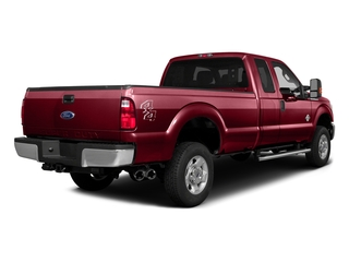 Ruby Red Metallic Tinted Clearcoat 2016 Ford Super Duty F-350 DRW Pictures Super Duty F-350 DRW Supercab XLT 4WD photos rear view