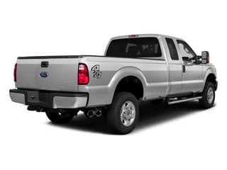 Ingot Silver Metallic 2016 Ford Super Duty F-350 DRW Pictures Super Duty F-350 DRW Supercab XLT 4WD photos rear view