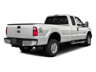 Oxford White 2016 Ford Super Duty F-350 DRW Pictures Super Duty F-350 DRW Supercab XLT 4WD photos rear view