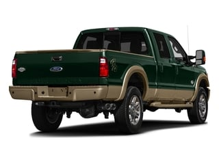 Green Gem Metallic 2016 Ford Super Duty F-250 SRW Pictures Super Duty F-250 SRW Crew Cab King Ranch 2WD photos rear view