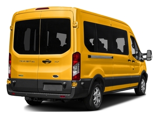 School Bus Yellow 2016 Ford Transit Wagon Pictures Transit Wagon Passenger Van XL Medium Roof photos rear view