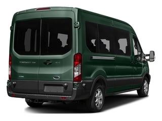 Green Gem Metallic 2016 Ford Transit Wagon Pictures Transit Wagon Passenger Van XL Medium Roof photos rear view
