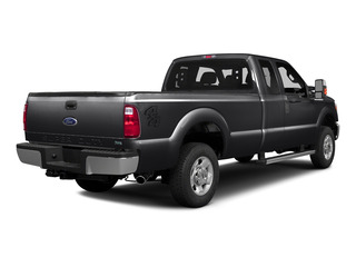 Shadow Black 2016 Ford Super Duty F-250 SRW Pictures Super Duty F-250 SRW Supercab XLT 2WD photos rear view