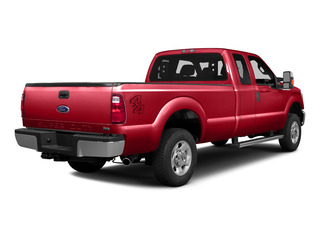 Race Red 2016 Ford Super Duty F-250 SRW Pictures Super Duty F-250 SRW Supercab XLT 2WD photos rear view