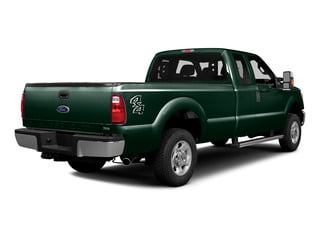 Green Gem Metallic 2016 Ford Super Duty F-250 SRW Pictures Super Duty F-250 SRW Supercab XLT 2WD photos rear view