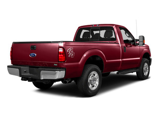 Ruby Red Metallic Tinted Clearcoat 2016 Ford Super Duty F-250 SRW Pictures Super Duty F-250 SRW Regular Cab XLT 4WD photos rear view