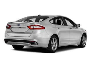 Ingot Silver 2016 Ford Fusion Pictures Fusion Sedan 4D SE EcoBoost 2.0L I4 photos rear view