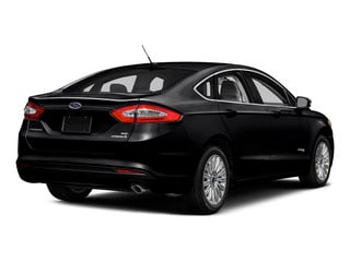 Shadow Black 2016 Ford Fusion Pictures Fusion Sedan 4D S I4 Hybrid photos rear view