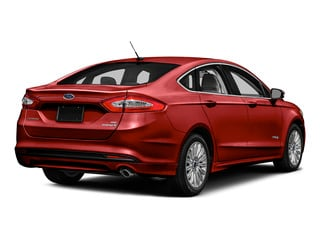 Ruby Red Metallic Tinted Clearcoat 2016 Ford Fusion Pictures Fusion Sedan 4D S I4 Hybrid photos rear view