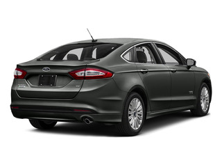 Magnetic 2016 Ford Fusion Energi Pictures Fusion Energi Sedan 4D SE Energi I4 Hybrid photos rear view