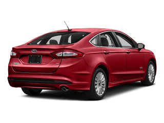 Ruby Red Metallic Tinted Clearcoat 2016 Ford Fusion Energi Pictures Fusion Energi Sedan 4D SE Energi I4 Hybrid photos rear view