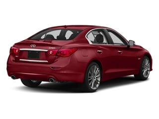 Venetian Ruby 2016 INFINITI Q50 Pictures Q50 Sedan 4D 3.0T Red Sport AWD V6 Turbo photos rear view
