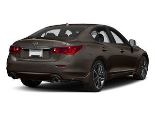 Chestnut Bronze 2016 INFINITI Q50 Pictures Q50 Sedan 4D AWD V6 Hybrid photos rear view