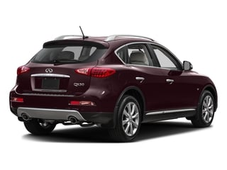 Midnight Garnet 2016 INFINITI QX50 Pictures QX50 Utility 4D 2WD V6 photos rear view