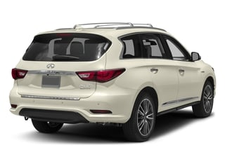 Majestic White 2016 INFINITI QX60 Pictures QX60 Utility 4D Hybrid AWD I4 photos rear view
