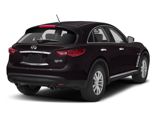 Malbec Black 2016 INFINITI QX70 Pictures QX70 Utility 4D 2WD V6 photos rear view