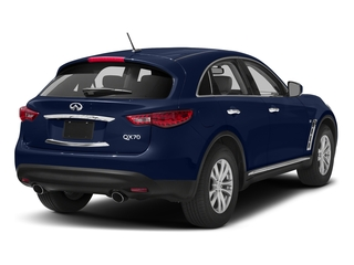 Iridium Blue 2016 INFINITI QX70 Pictures QX70 Utility 4D 2WD V6 photos rear view
