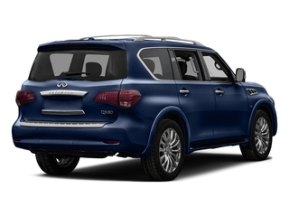 Hermosa Blue 2016 INFINITI QX80 Pictures QX80 Utility 4D Signature 2WD V8 photos rear view